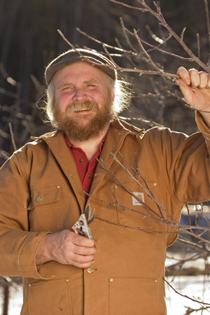 Michael Phillips, author of The Holistic Orchard: Tree Fruits and Berries the B